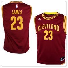 1a4901b68 Preschool Cleveland Cavaliers LeBron James adidas Garnet Jersey Medium 5 6   adidas Nba Cleveland