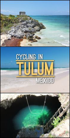 Do you know that the best way to explore Tulum? On a bicycle! In one day, you can easily fit seeing the famous Tulum Ruins, the Tulum beaches and the nearby Cenotes in Tulum. Read more about it here.