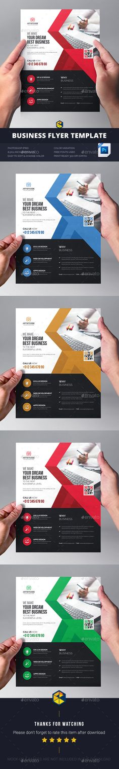 Corporate Flyer  Design Psd Templates And Flyer Template