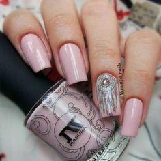 Ideas with Dream Catcher Nail Art Designs For 2018 - Fashionre Long Nail Designs, Beautiful Nail Designs, Acrylic Nail Designs, Nail Art Designs, Acrylic Nails, Acrylics, Great Nails, Cute Nails, Dream Catcher Nails
