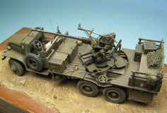 Ford GMC 6x6 2.5 Ton AA Truck w/ 40mm Bofors M1 AA Gun in Free-French Service.
