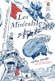 Jillian Tamaki cover for Les Miserables, Penguin Classics Deluxe Edition