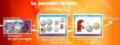 Le parcours lecture interactif !