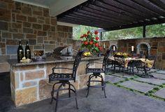 Unique Outdoor Living Space Design Ideas | outdoortheme.com