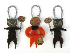 Halloween Party Decorations  Primitive by oldworldprimitives