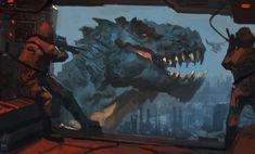 Godzilla by Raph04art.deviantart.com on @deviantART