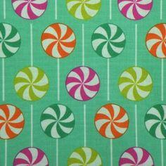 Rock lollipop fabric - Robert Kaufman
