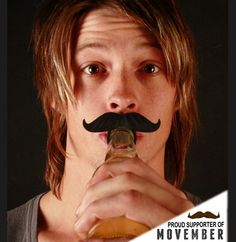 The BeerMo™ Bottle mustache is available in six colors: Black, Brown, hot pink, yellow, ginger(red/orangish) and St.Patty's Green! Sa-weet!