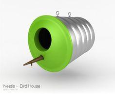 easy bird house