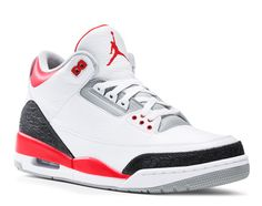 "Air Jordan III ""Fire Red"" 