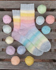 Yarn Crafts, Gelato, Socks, Knitting, Instagram, Knitting Socks, Ice Cream, Tricot, Breien