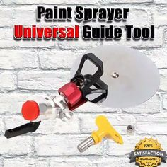 Shop OFF Paint Sprayer Universal Guide Set) - Household Tools - Paint Home Construction Tools, Diy Home Repair, Painting Tools, Painting Hacks, Edge Painting Tool, Cool Inventions, Useful Life Hacks, Home Repairs, Diy Home Improvement