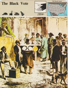 The Black Vote  Fact And Information Trade by vintagepostexchange