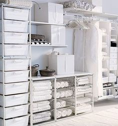 Antonius system, Ikeas least expensive clothing storage system.