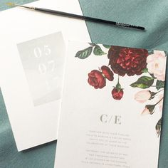 Sneak peak of some design revamps coming in 2017  . . . . #stationery #wedding #design #art #floral #modern #monogram #rachelmarvincreative #invitations #smallbusiness #2017 #typography #painterly #modernwedding #minimalist #minimalistbride #watercolor #painted #texture #minimalism #details #stationer