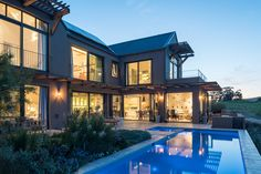 Wineland House Mansions, House Styles, Water, Home Decor, Mansion Houses, Water Water, Aqua, Decoration Home, Manor Houses