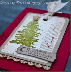 Stampin 'Up! Evergreen meets Gorgeous Grunge close