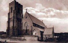 Ghostly encounter at St Marys Old Hunstanton Norfolk