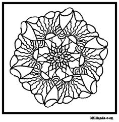 Sun Mandala Art Coloring PagesHOP OFF For Beautiful To Color At Milliande Printable Adult Pages Free