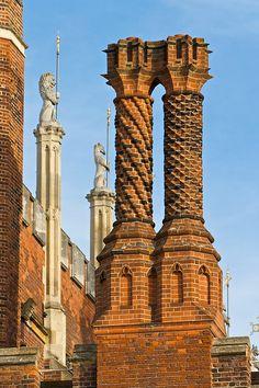 Tudor Brickwork...