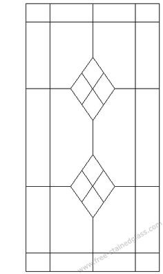 stained glass pattern  will look good on my attic windows #StainedGlassMirror