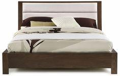 Hudson King Upholstered Platform Bed
