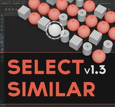 Select Similar - is simple modeling script for Autodesk Maya which builds upon already existing Maya's Select Similar tool which works perfectly with the component selection but it can't select a similar/same object (in Object mode), for example, in situation where you select one screw and you want for tool to select all other similar/same screws in the scene. This is where this script comes in and it will allow you to select not only same/similar components but also same objects in the…