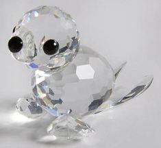 4af7dcff6 Swarovski Swarovski Crystal Figurines Seal-Baby-Mini-No Whiskers - No Box  Swarovski