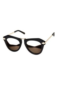 b432074f943786 Limited Edition One Orbit Black with Gold Karen Walker Sunglasses, My  Wardrobe, Sunnies,