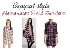 Plaid shirtdresses & tunics are so versatile and these are so affordable!