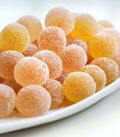 Pates de Fruits Fondantes Fruit Jelly Recipe, Jelly Recipes, Candy Recipes, Gourmet Recipes, Snack Recipes, Dessert Recipes, Snacks, Homemade Sweets, Homemade Candies