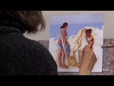 Lena Rivo's Painting Blog: 30 minutes video demonstration - Quite Morning