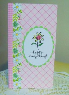 """MMTPT341, """" Happy daisy """" by wendy2512 - Cards and Paper Crafts at Splitcoaststampers"""