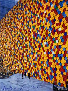 Christo und Jeanne-Claude - The Wall Nr. 6