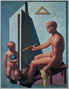 Mario Tozzi: 1931 Il Pittore