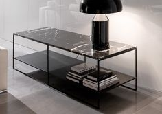 CALDER MARBLE COFFEE TABLE - Minotti - Designed by Rodolfo Dordoni