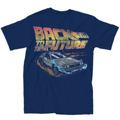 Burning Wheels Tee Men's, $25, now featured on Fab. [Back to the Future, welovefine]