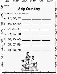 Smiling And Shining In Second Grade Free October Printables Math