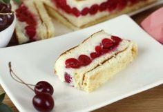 Kirschenschnitte Cheesecake, Food Blogs, Baking, Desserts, Vanilla Cream, Cherries, Oven, Dessert Ideas, Cooking Recipes