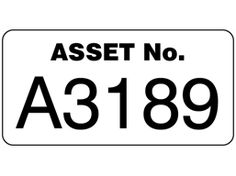 Assetmark jumbo serial number label, 40mm x 80mm. You can purchase these here: http://www.labelsource.co.uk/labels/assetmark-jumbo-serial-number-label--40mm-x-80mm/lfs01