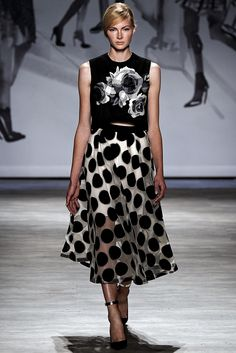 See the complete Lela Rose Spring 2015 Ready-to-Wear collection.