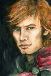 Jamie Fraser by Emmillustrate @Deviantart.  I love her art.  She captures the characters flawlessly.