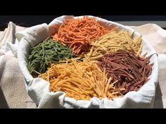 Ravioli, Japchae, Italian Recipes, Cabbage, Noodle, Vegetables, Ethnic Recipes, Youtube, Baby Knitting