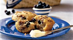 Blueberry-Cinnamon Muffins C- good luck and Prosperity