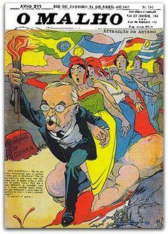 Rui Barbosa na capa de O Malho 1917 - K. Lixto   Calixto Cordeiro ou K. Lixto, como costuma assinar suas obras, destaca-se principalmente como ilustrador e caricaturista.   Em 1902, participa da fundação do periódico O Malho, para o qual faz caricaturas e anúncios comerciais.   Calixto e Raul prestam o concurso de seus lápis a todas as tentativas do periodicismo humorístico, e a eles cabe a façanha do nosso Renascimentozinho caricaturesco, bem como a paterni-dade indireta, por sugestão e…