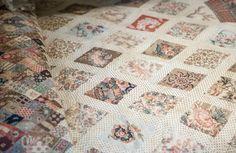 Photo 13031 - Jane Austen's House Museum, Chawton: Patchwork Coverlet