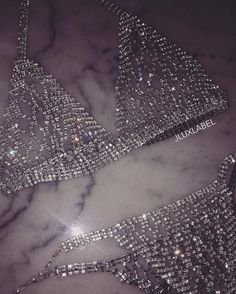 J Lux Label 'Elara' Rhinestone Bikini Jolie Lingerie, Lingerie Outfits, Pretty Lingerie, Lingerie Set, Women Lingerie, Rave Outfits, Sexy Outfits, Looks Party, Edgy Outfits