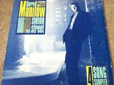 "Barry Manilow / Swing Street Sampler / Promo 12"" Vinyl LP Record / Arista ADP-9649 / RARE #BarryManilow #Album"