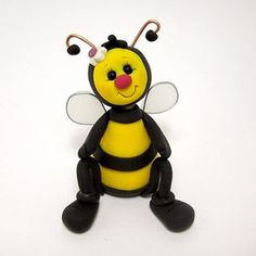 bumble bee by Clayin' Around, via Flickr