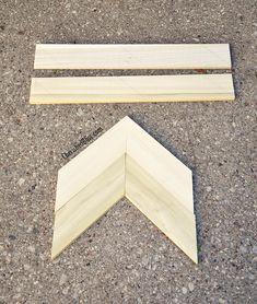 Diy Wooden Arrow Tutorial Via Wood Projects For Beginners, Diy Wood Projects, Woodworking Projects, Woodworking Plans, Popular Woodworking, Wooden Crafts, Wooden Diy, Diy Crafts, 1x4 Wood